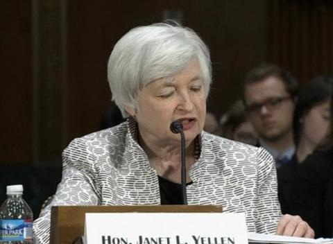 News video: Fed's Yellen Says U.S. Recovery Incomplete, Defends Loose Policy