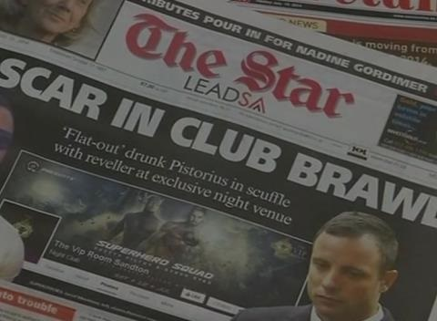 News video: Oscar Pistorius in Night Club Altercation