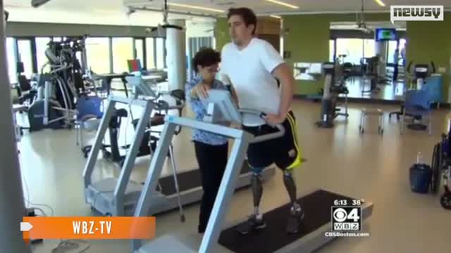 News video: Movie Deal, New Child For Boston Marathon Bombing Survivor