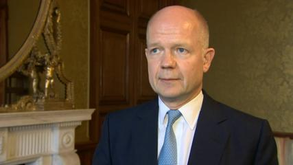 News video: Hague is looking forward to life after politics