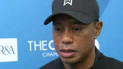 News video: Tiger Woods Speaks Before British Open
